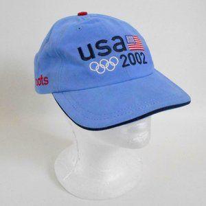 2002 USA Olympic Team Baseball Cap Roots Hat